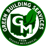 GREEN BUILDING SERVICES LOGO DARK BACKGROUND